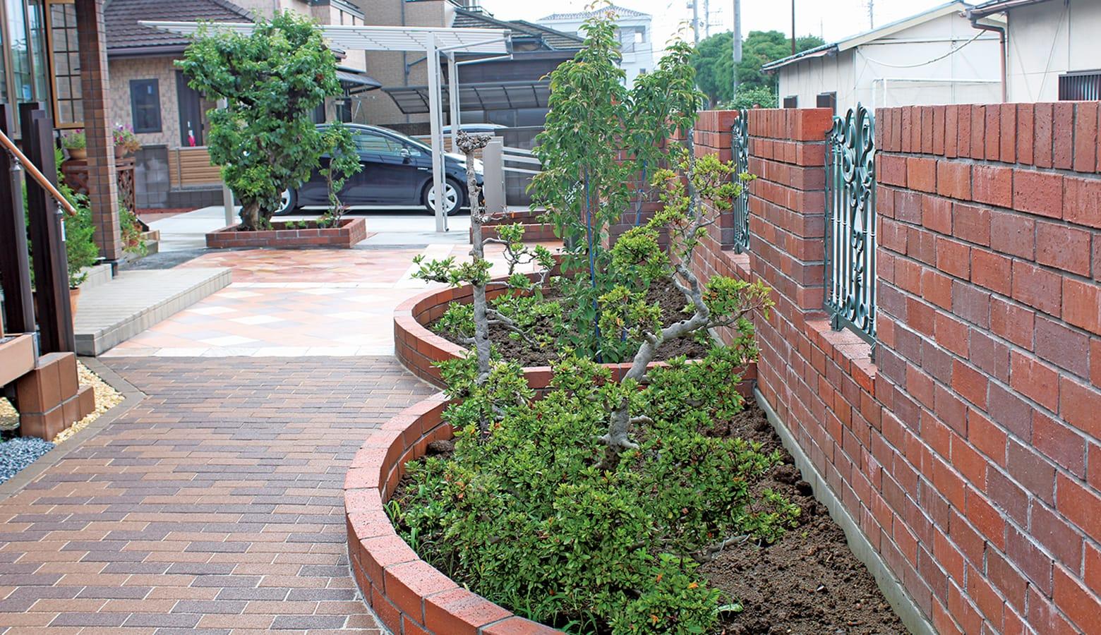 お手入れ箇所を明確にしたローメンテナンスなお庭