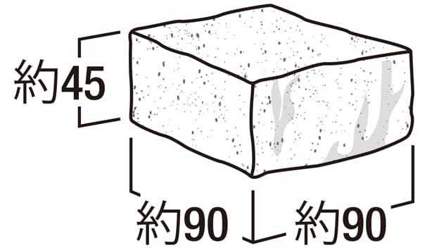 クッキー・コロン-寸法図-ペイバー