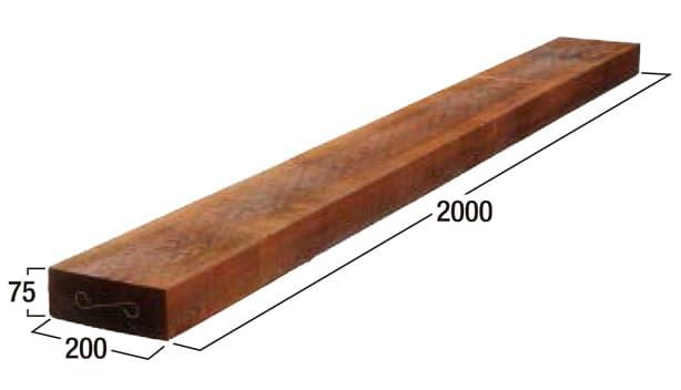 シダースリーパー-寸法図-2000